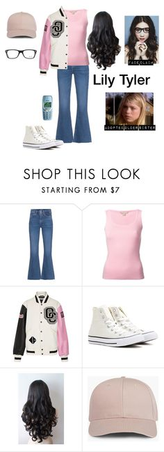 """Lily Tyler (RTD)"" by photogeekgirl ❤ liked on Polyvore featuring M.i.h Jeans, Michael Kors, Opening Ceremony, Converse, Nokia and Ray-Ban"