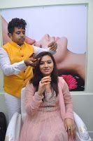 Isha Chawla, Hema graced at the launch of De Charms Spa n Saloon in Hyderabad, Isha Chawla chudidar photos at De Charms Spa n Saloon pictures, Celebrities at De Charms Spa n Saloon Launch
