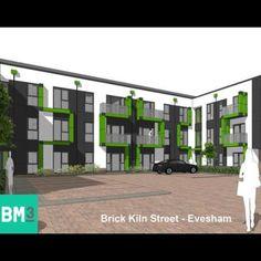#planning #planningpermission #granted #newhomes #evesham #housing #new #flats #courtyard #modern #green #balcony