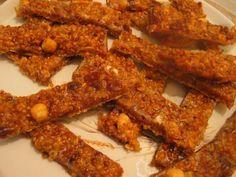 Barres de Céréales maison au Muesli Barre Muesli, Bacon, Breakfast, Desserts, Food, Fruit Soup, Raisin, Homemade, Parchment Paper Baking