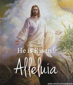 He is Risen! Alleluia :-)