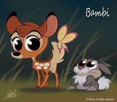 Bambi by David Gilson