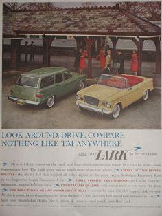 1960 Studebaker Lark Station Wagon ad