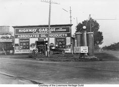 The Highway Garage - Livermore, California - On Lincoln Highway