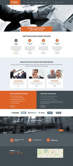 Investment Company #website #template. #themes #business #responsive