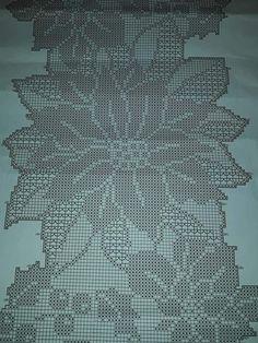 Romans Z Szydełkiem: Najpiękniejsze Serwety I Obrusy - Diy Crafts Diy Crafts Crochet, Cute Crochet, Beautiful Crochet, Knit Crochet, Doily Patterns, Crochet Table Runner Pattern, Filet Crochet Charts, Crochet Dollies, Tricot