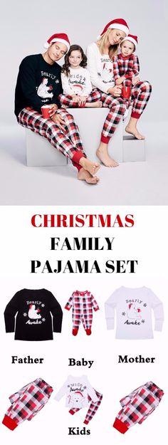 Bear Tartan Family Christmas Pajama Set Family Christmas Pajamas Sets, Family Pajama Sets, Matching Family Pajamas, Christmas Pjs, Toddler Christmas, Family Pjs, Christmas Ideas, Christmas Pictures Outfits, Boys Christmas Outfits