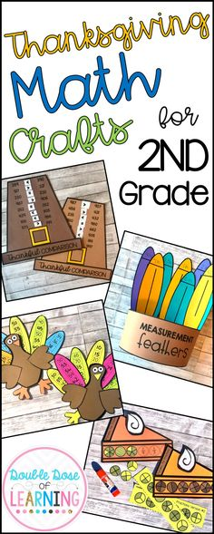 Thanksgiving Math for 2nd grade
