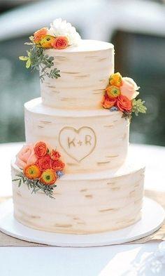 36 Rustic Wedding Cakes We Love wedding cake rustic 35 Rustic Wedding Cakes We Love Pretty Wedding Cakes, Black Wedding Cakes, Wedding Cake Rustic, Wedding Cakes With Flowers, Wedding Cake Designs, Cupcake Wedding, Cake Flowers, Unique Wedding Cakes, Flower Cakes