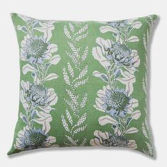 80a227898 Utopia Goods Imperial Waratah Forest Pillow, square – Collyer's Mansion  Linen Pillows, Cushions,