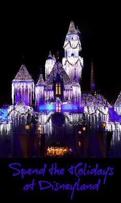 Plan Now To Spend The Holidays At Disneyland
