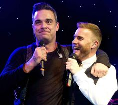 Gary Barlow and Robbie Williams, Music Industry Trust dinner, November 5 2012 Music Tv, Music Bands, Robbie Williams Take That, Howard Donald, Jason Orange, Mark Owen, Gary Barlow, Latest Celebrity News, Fashion Tv