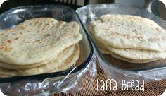 I Heart My Glue Gun: Laffa Bread Recipe