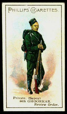 Cigarette Card - 44th Gurkhas