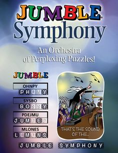 If #Wordplay is music to your ears, check out #JumbleSymphony from #TriumphBooks