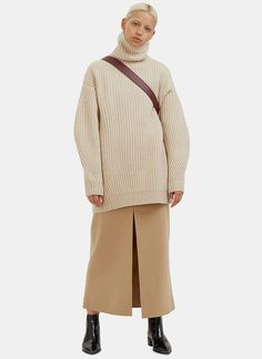 Acne Studios Pascal Long Wool Skirt | LN-CC