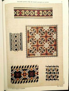 F Folk Embroidery, Folk Costume, Cross Stitch Patterns, Pattern Design, Bohemian Rug, Traditional, Sewing, Knitting, Romania