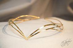 Wedding hair accessories - bridal hair vine - bridal headband - Medieval Fairy - Elven crown - Siena - Hair and Nail Cute Jewelry, Hair Jewelry, Jewelry Sets, Bridal Jewelry, Jewellery, Bridal Hair Vine, Bridal Tiara, Bridal Headpieces, Bridal Crown