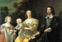 1628 After Gerard van Honthorst - The Duke of Buckingham and his Family