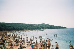 Croatia beach at Fort Punta Christo Outlook Festival, Croatia Travel, Beach Holiday, Beautiful Beaches, Trip Planning, Festivals, Places Ive Been, Seaside, Travelling