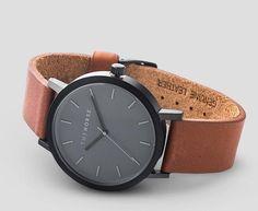 The Horse watch in Black / Grey / Tan (Brown)
