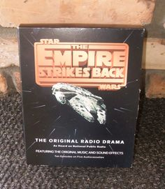 Original Star Wars The Empire Strikes Back Radio Drama by Andie83, $12.75