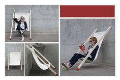 Definite DIY - deck chair by Bernhard /Burkard