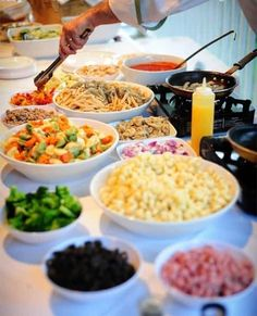 28 best pasta bar ideas images food pasta bar party parties food rh pinterest com