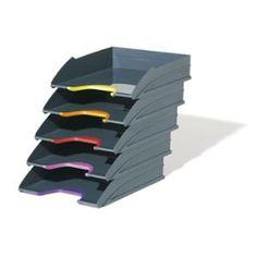 Durable lomakelaatikko  Uutuusväreissä! Study Desk, Study Office, Home Office, Letter Tray, Paper Organization, All Family, Lettering, Purple, Stylish