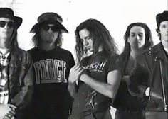 Early days … Pearl Jam...