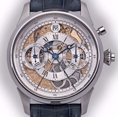 Molnar Fabry White Lotus Rattrapante Chronograph Watch Watch Releases
