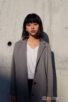 Asian Street Style, Tokyo Street Style, Medium Hair Styles, Short Hair Styles, Korean Short Hair, Fashion Photo, Girl Fashion, Girl Short Hair, Dream Hair