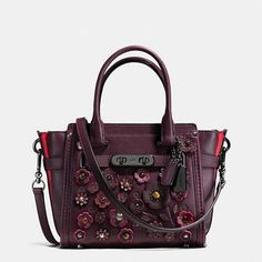 Coach Swagger 21 in Willow Floral - The absolute opposite of practical. I'd love to have this.