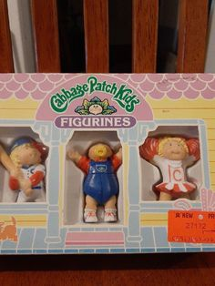 From 1984 these collectables toys are still in the box. Box has slight wear but in overall decent shape. Pound Puppies, Cabbage Patch Kids Dolls, Toy Chest, Shapes, Toys, Activity Toys, Clearance Toys, Gaming, Games