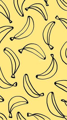 Imagen de banana, wallpaper, and background