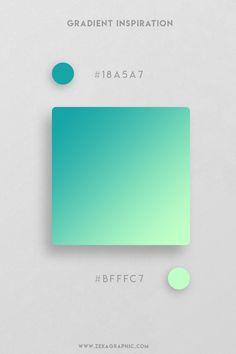 16 Beautiful Color Gradient Inspiration Part 2 Ui Palette, Hex Color Palette, Color Schemes Colour Palettes, Packaging Design Inspiration, Graphic Design Inspiration, Color Inspiration, Web Design, Graphic Design Projects, Design Trends