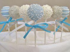 Cake Pops: Cumpleaños de invierno por TheLollicakesBakery en Etsy