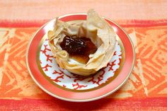 Phyllo Shells with Honey Cinnamon Goat Cheese and Fig Spread