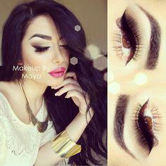 Bonjour Mes Belles - @makeupbymaya #webstagram