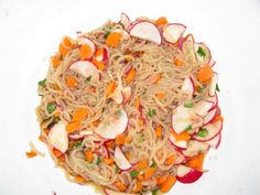 @Influenster @Nasoya I call it Asian Noodle Salad with Radishes and Carrots #NasoyaPastaZero  #contest