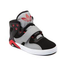 Athletic Shoe | Toddler Boys adidas Roundhouse Athletic Shoe, Black Red Gray ...
