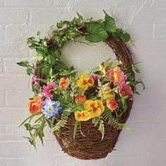 Woven Hanging Basket