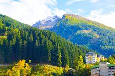 Haus Hirt - Bad Gastein - Blick in die Berge