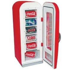 Christmas Gifts For Teen Girls, Gifts For Girls, Cool Gifts, Diy Gifts, Party Gifts, Unique Gifts, Coca Cola Vintage, Beverage Refrigerator, Beverage Center