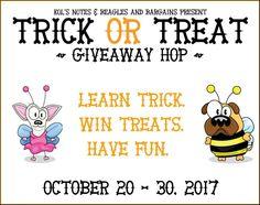 Trick or Treat Giveaway Hop 2017 | Kiss