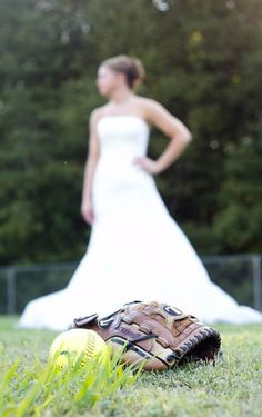 Softball bridal  Shannon Wood Photography