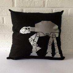 I want one for my bedroom¡!  www.etsy.com/es/listing/209004692/at-at-starwars-pillow-cover-starwars