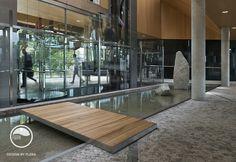 #landcape #architecture #garden #public #space #atrium #water #feature