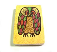 Vintage 1970s Super Kitsch Sealed OWL Playing Cards by PinkyAGoGo, $9.99 I can't believe this, I forgot all about them, mom and dad used these.