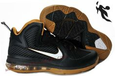 finest selection 019dd 62162 Cheap Lebron 9 Size 7 Black Gold Black For Sale 469764 008